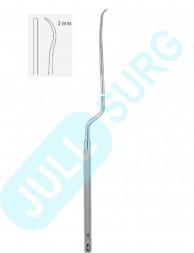 Buy Nicola Raspatory  Curved Down  2mm, Length- 21.5cm-8