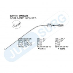 Buy Suction Cannulas Curved To Right