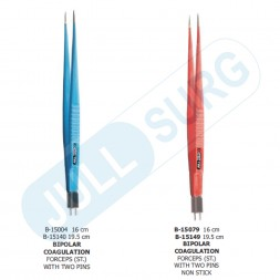 Buy Bipolar Coagulation Forceps With Two Pins Straight