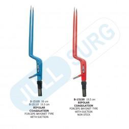 Buy Bipolar Coagulation Forceps Bayonet Type With Suction
