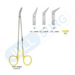 """Buy Pott's Angle Scissors 8"""" Tungsten Carbide"""