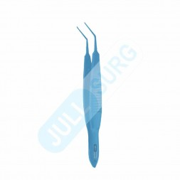 Buy Ultra Capsulorhexis Forceps Straight Jaws, 11mm, Long Handle, Overall Length-107mm Titanium