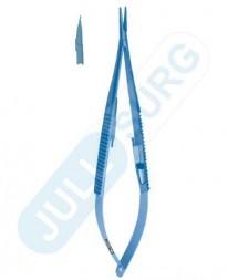 "Buy Micro Spring Needle Holder Flat Handle With Lock 7"" Titanium"