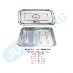 Buy Surgical Tray With Lid Heavy Stainless Steel