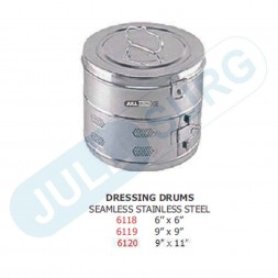 Buy Dressing Drum Seamless Stainless Steel