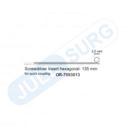 Buy Screwdrivers Insert Hexagonal, 135 Mm (for Quick Coupling)