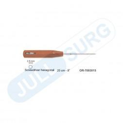 """Buy Screwdriver Hexagonal 20cm – 8"""" , 2.5mm"""