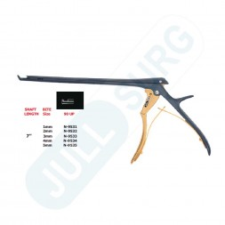 Buy 90° Up - 7'' Hygienic Lumbar And Cervical Kerrison Laminectomy Rongeurs,with Bone Ejector,bite