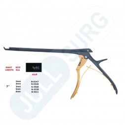 Buy 40° Up -7'' Hygienic Lumbar And Cervical Kerrison Laminectomy Rongeurs,with Bone Ejector,bite Size,