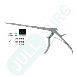 """Buy 40° Down - 8'' Hygienic Lumbar And Cervical Kerrison Laminectomy Rongeurs,bite 8"""""""